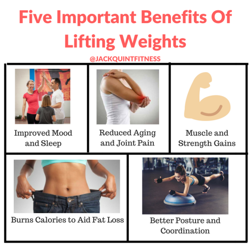 Five Important Benefits Of Lifting Weights